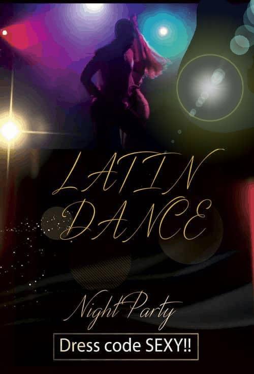 LATIN-DANCE serata caraibica clubprivemialno